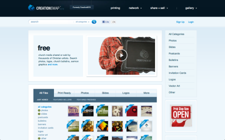 CreationSwap - Screen Shot i